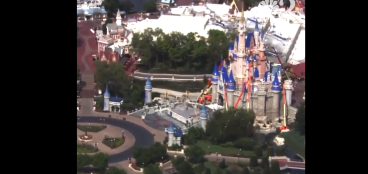 Walt Disney World. Image: WESH 2