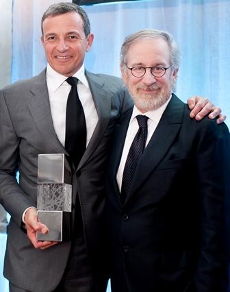 Bob Iger, Steven Spielberg