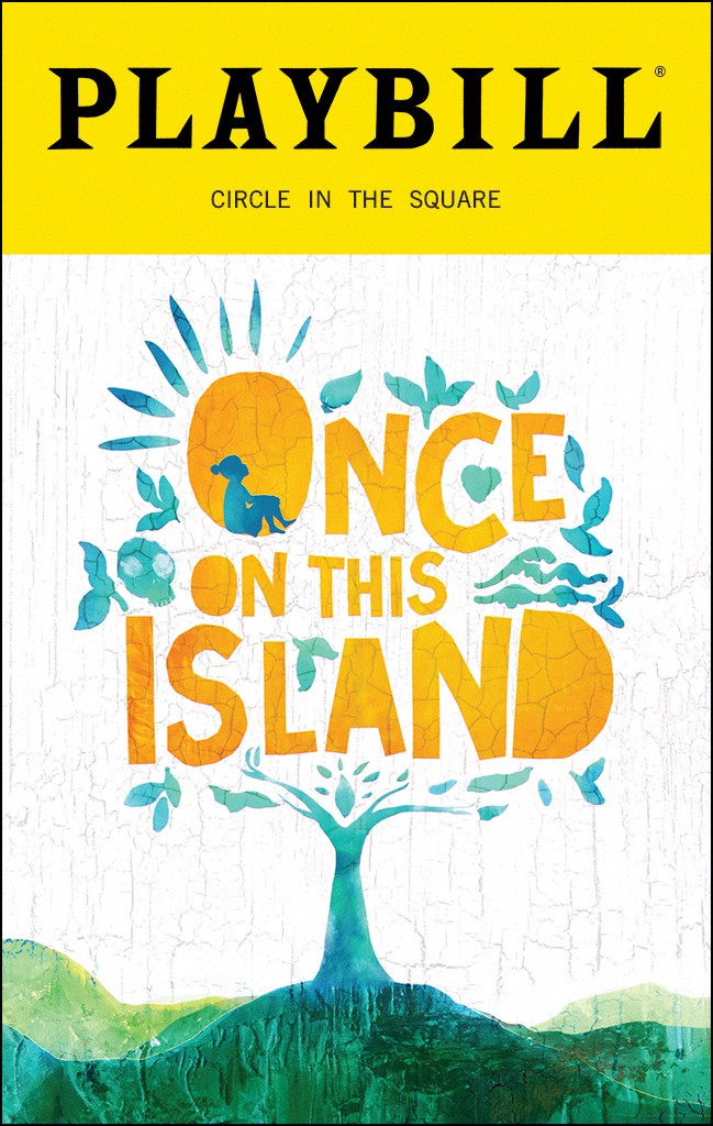 Once on this Island Playbill